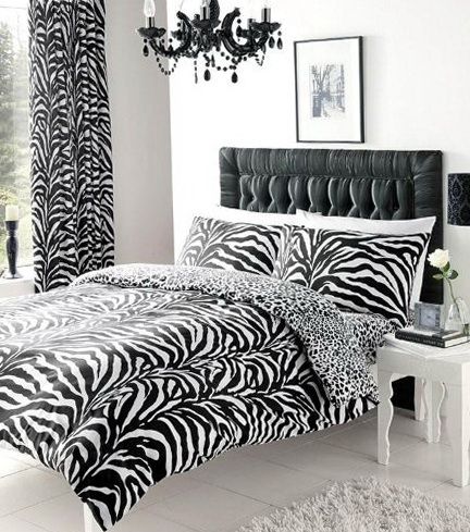 Zebra Print Bedding King Size