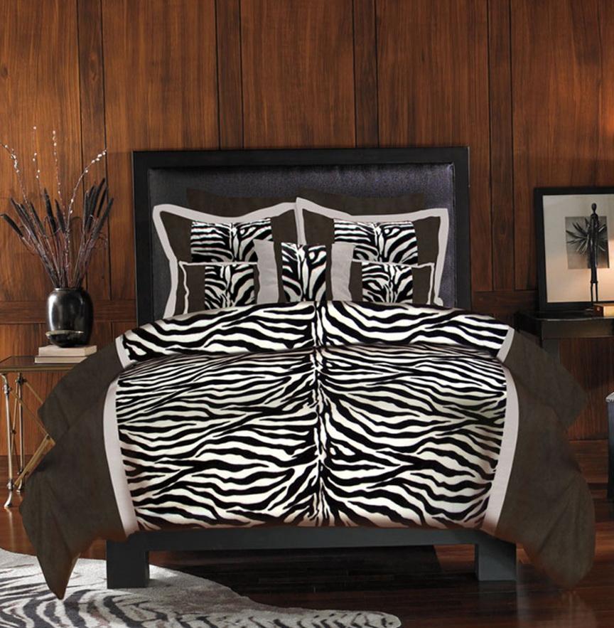 Zebra Print Bedding Twin Size