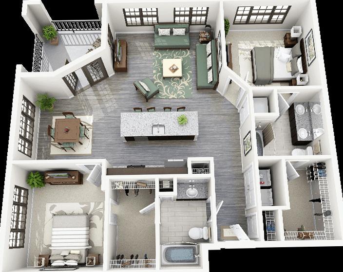 2 Bedroom House Plans Pdf