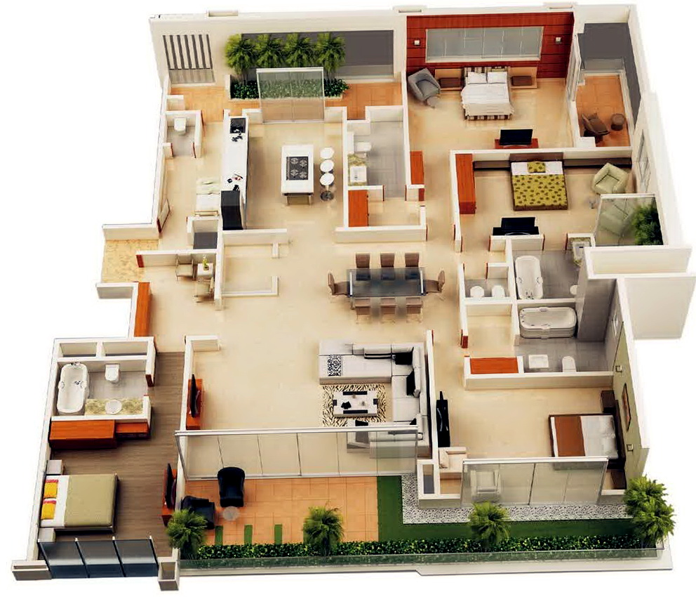 4 Bedroom House Plans Nz