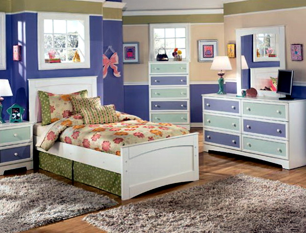 Ashley Furniture Girls Bedroom Set