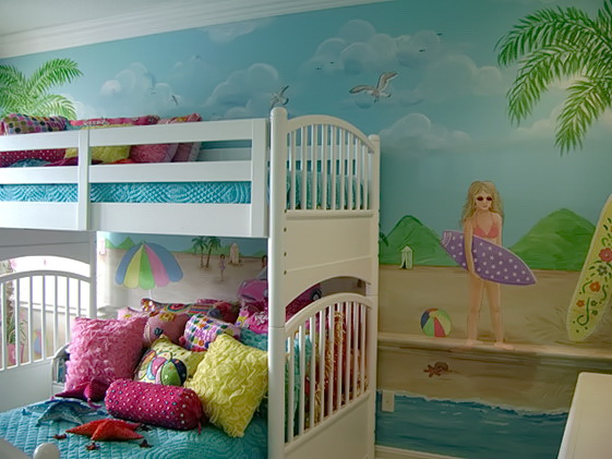 Beach Themed Bedrooms For Kids