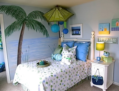 Beach Themed Bedrooms For Teenage Girls
