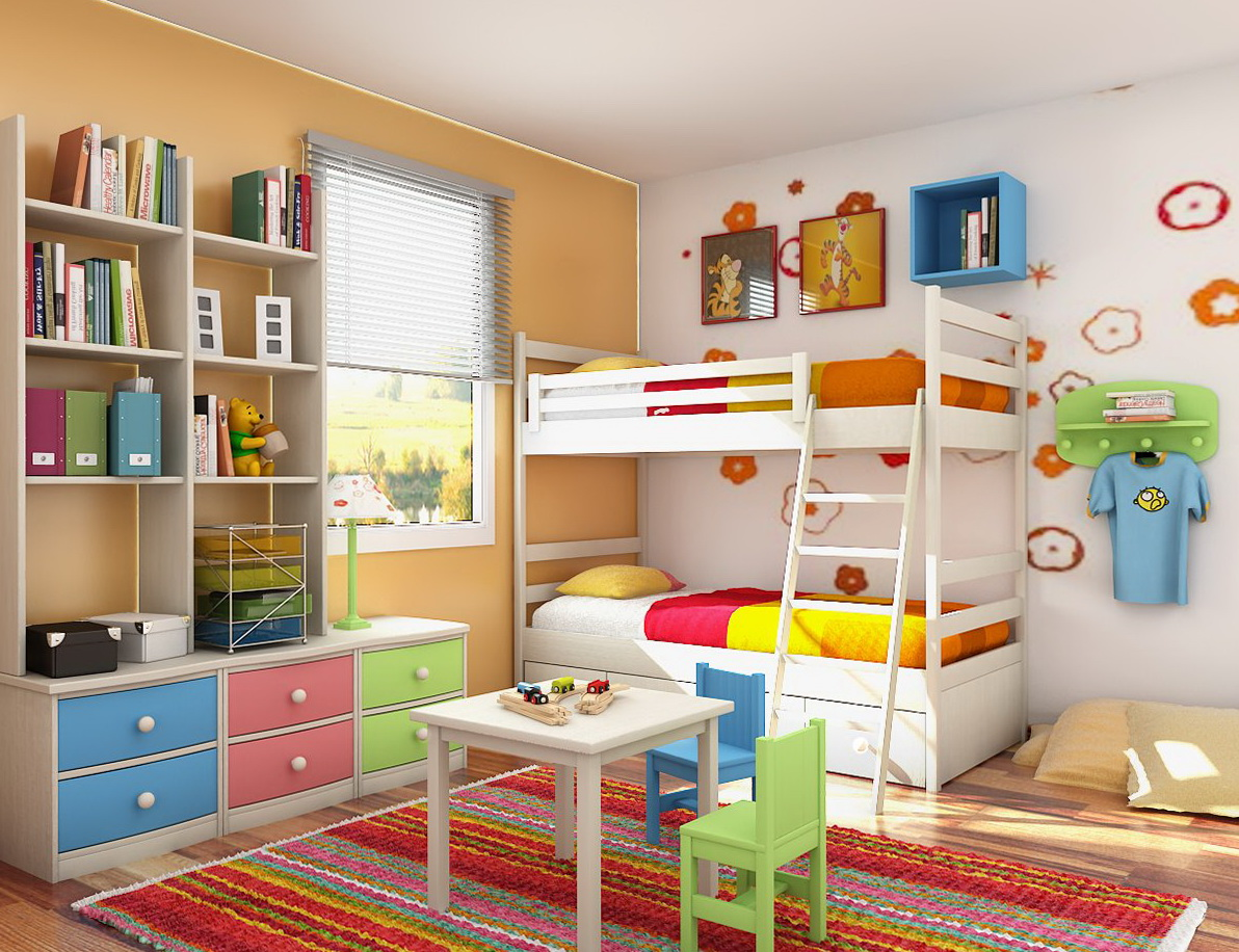 Bedroom Storage Ideas Kids