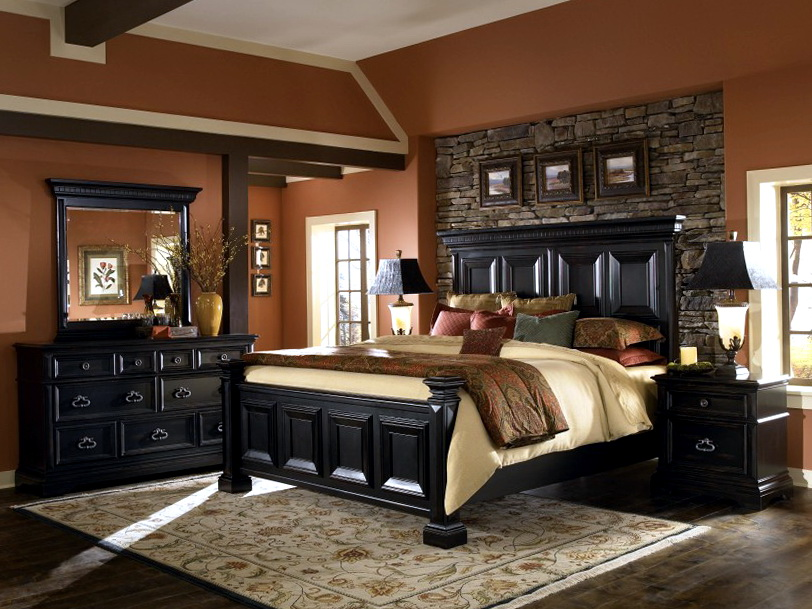 Black Bedroom Furniture Decor