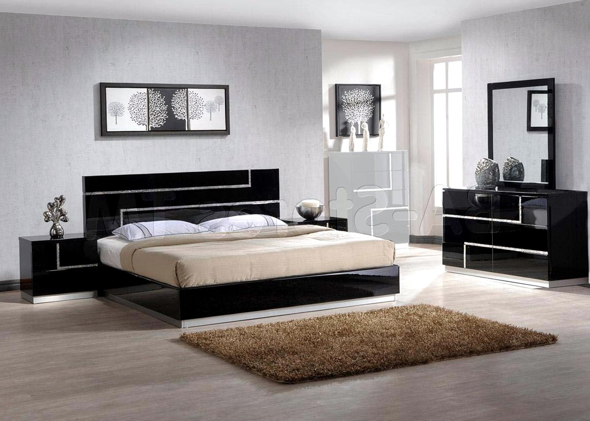 Black Bedroom Furniture Decorating Ideas