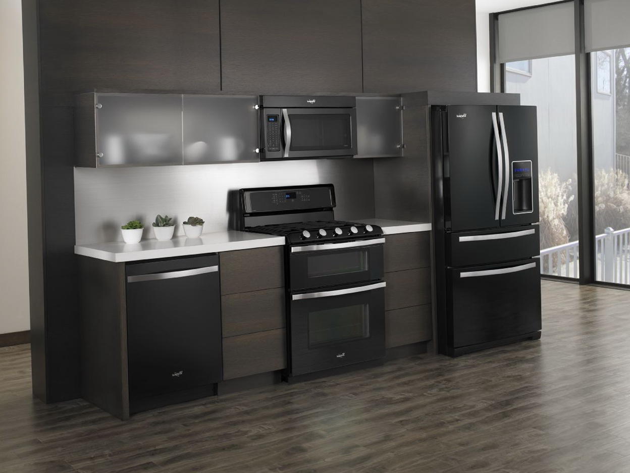 Black Kitchen Appliance Packages