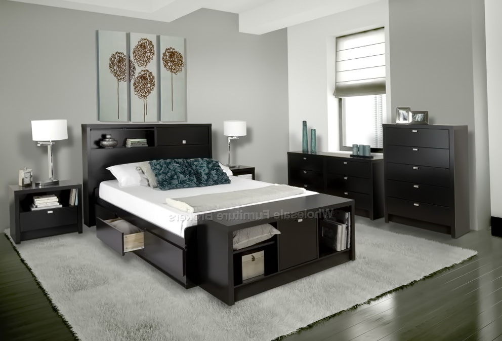 Black Queen Size Bedroom Sets
