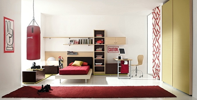 Cool Bedroom Ideas For Teenage Guys