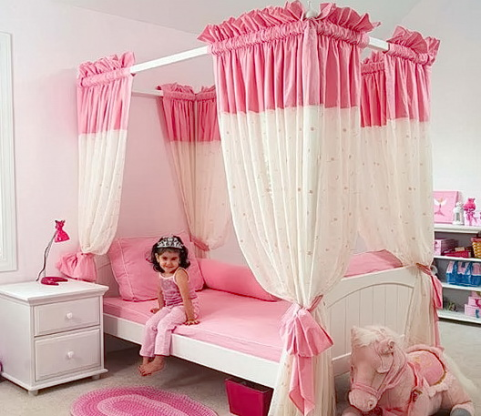 Girls Bedroom Decorating Ideas Pink