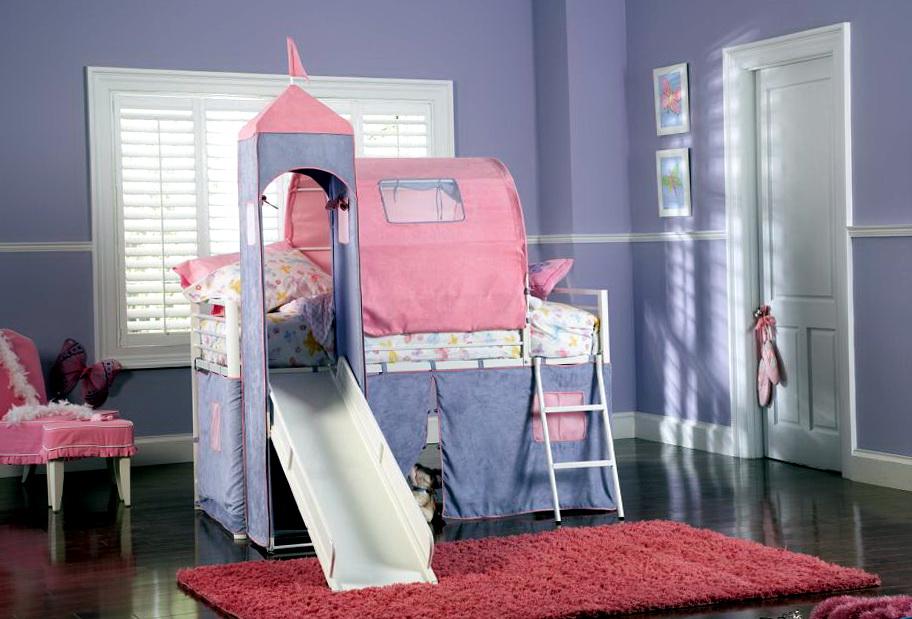 Girls Bedroom Sets With Slide