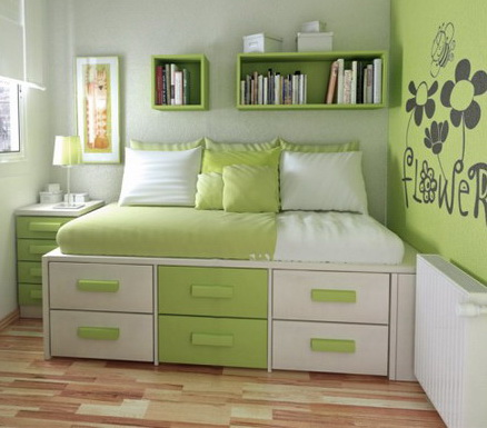 Green Bedroom Ideas For Girls