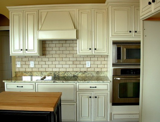 How To Paint Kitchen Cabinets White Distressed