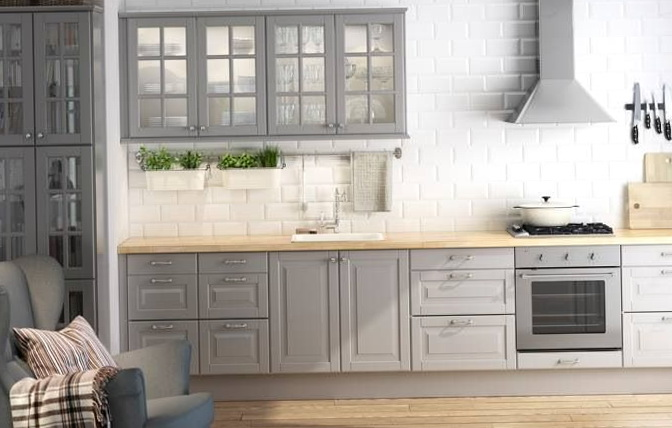 Ikea Kitchen Cabinets Grey