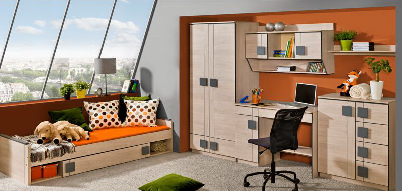 Kids Bedroom Furniture With Desk