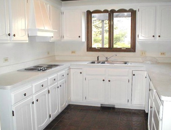 Kitchen Cabinet Refacing Antique White