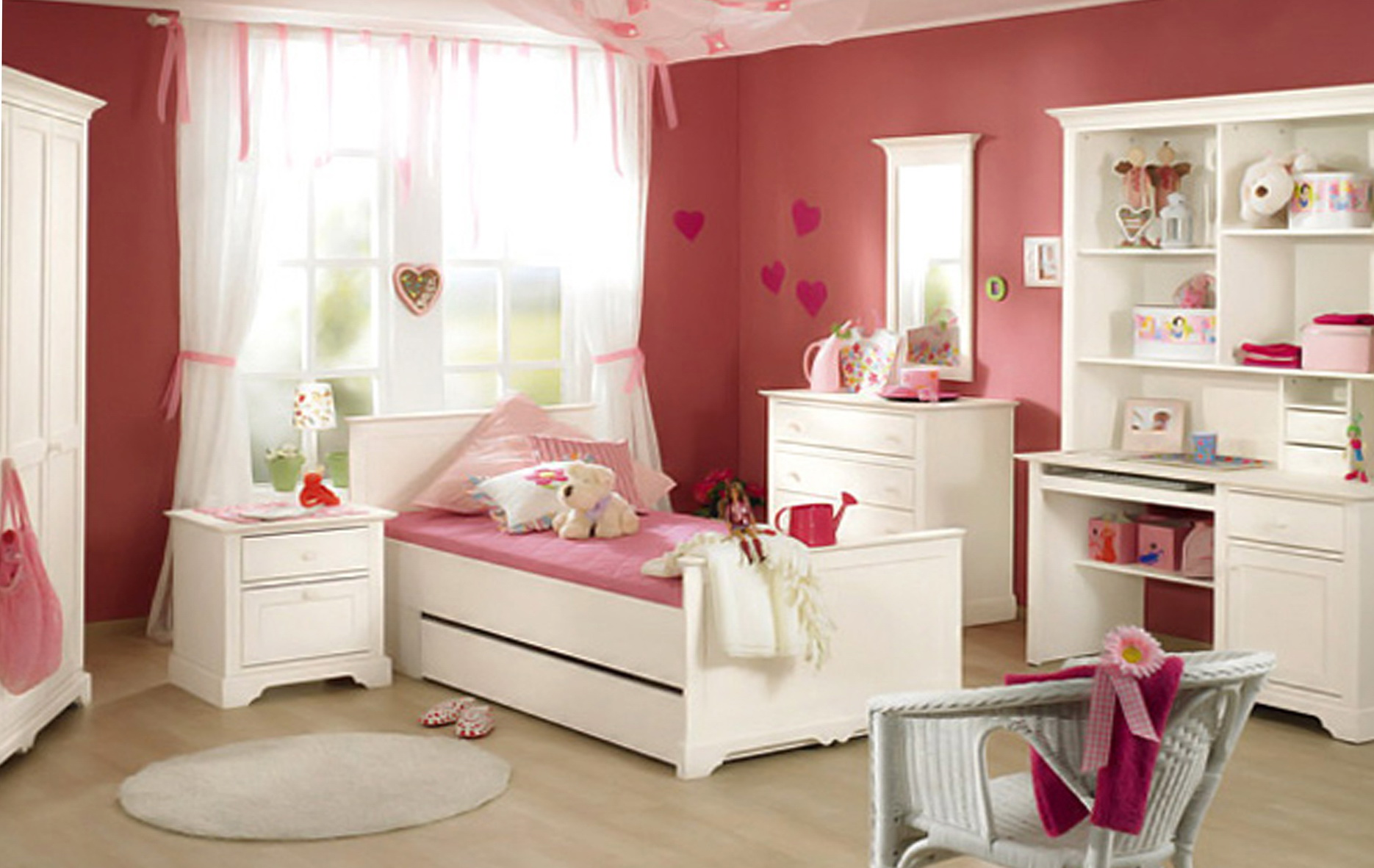 Little Girls Bedroom Ideas Pinterest