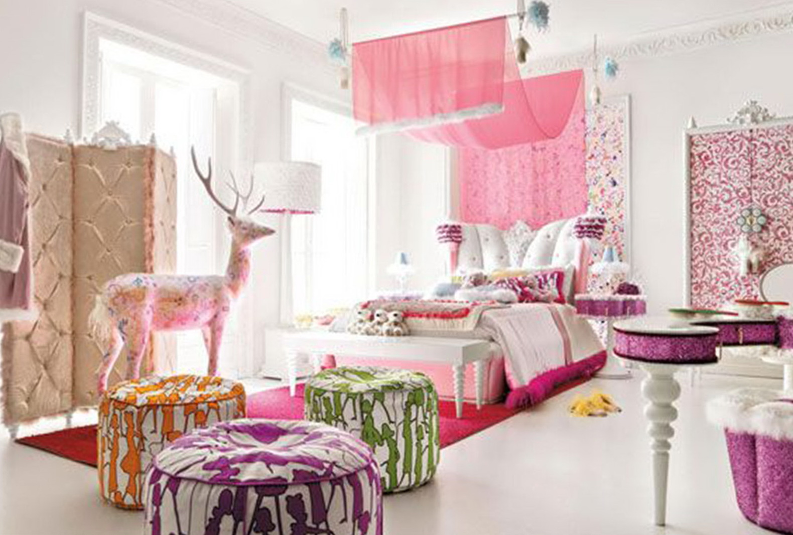 Little Girls Bedroom Ideas Uk