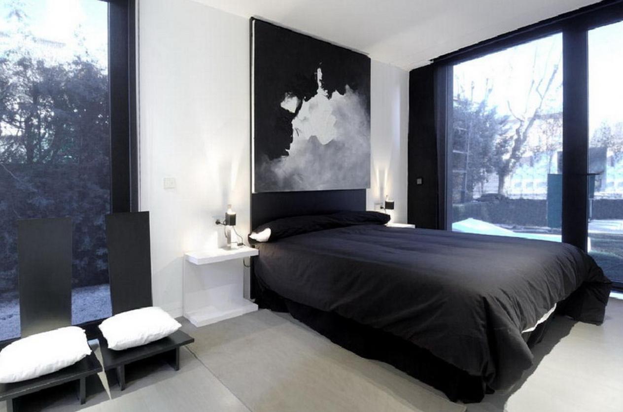 Mens Bedroom Ideas Black