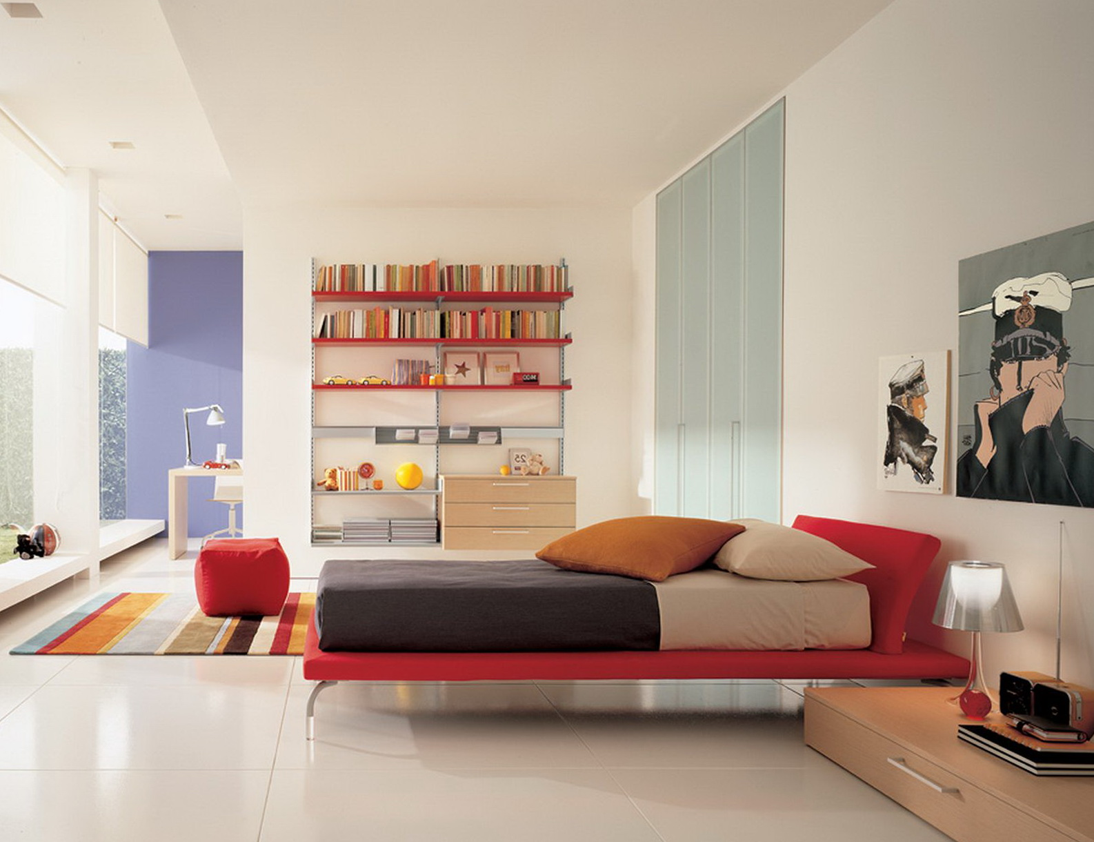 Modern Bedroom Ideas For Teenage Girls