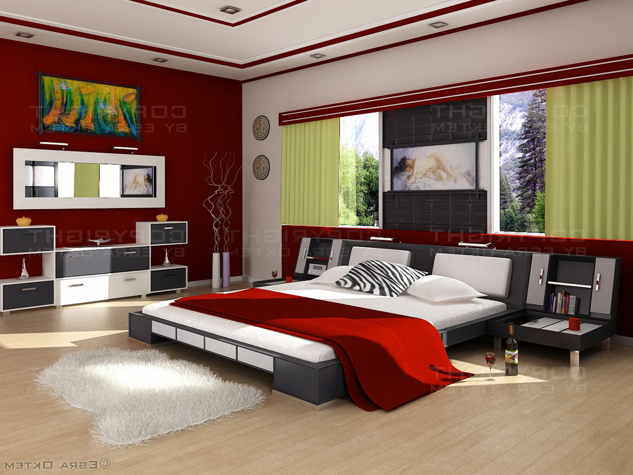 Modern Bedroom Ideas Pinterest