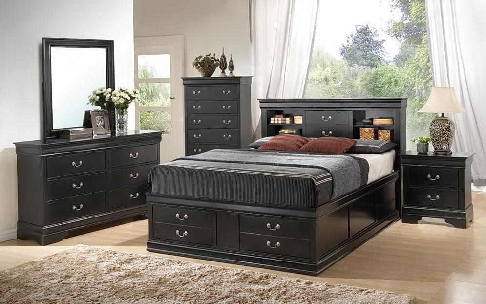 Queen Bedroom Sets Black