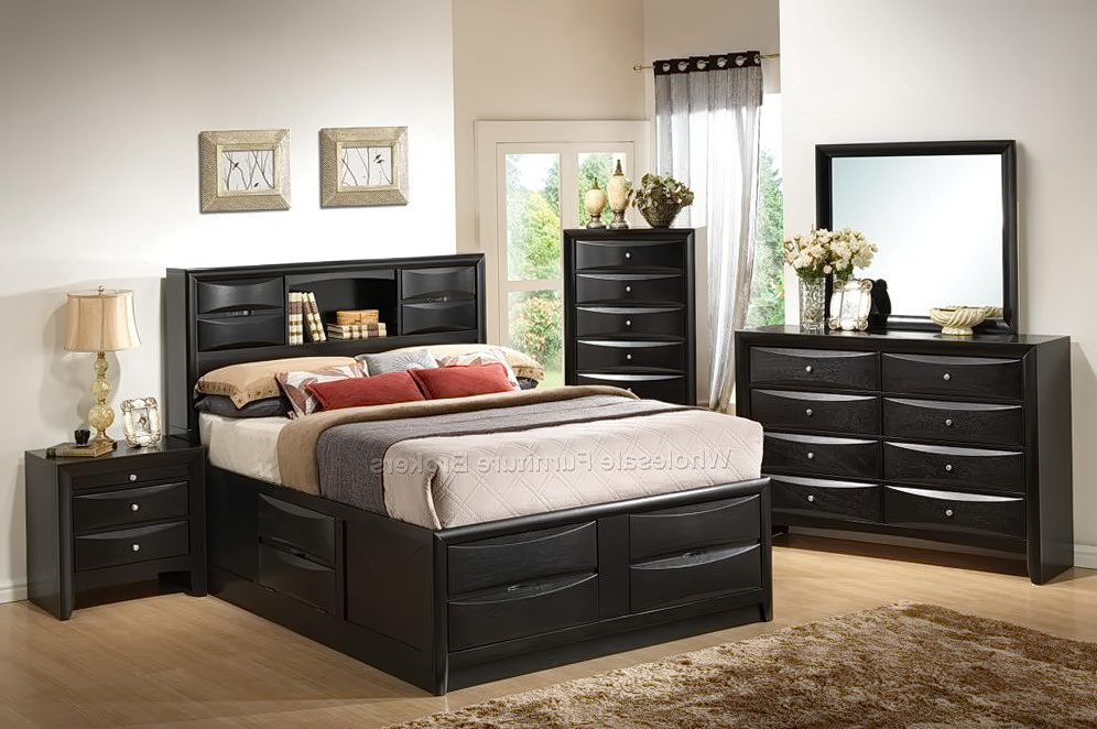 Queen Bedroom Sets With Underbed Storage