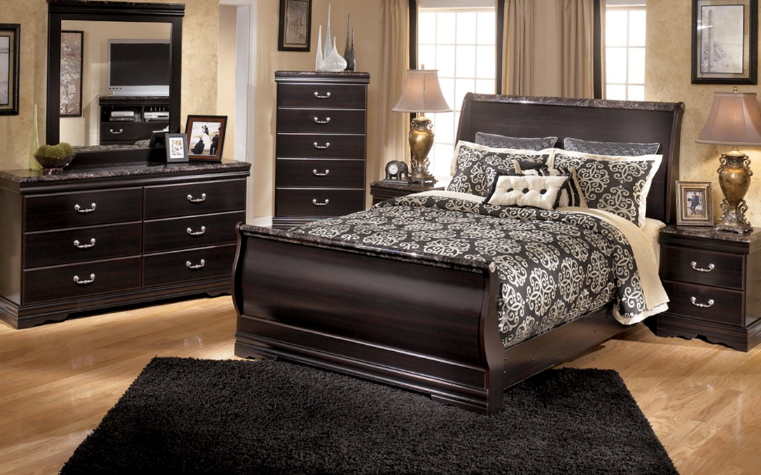 Sleigh Bedroom Sets California King