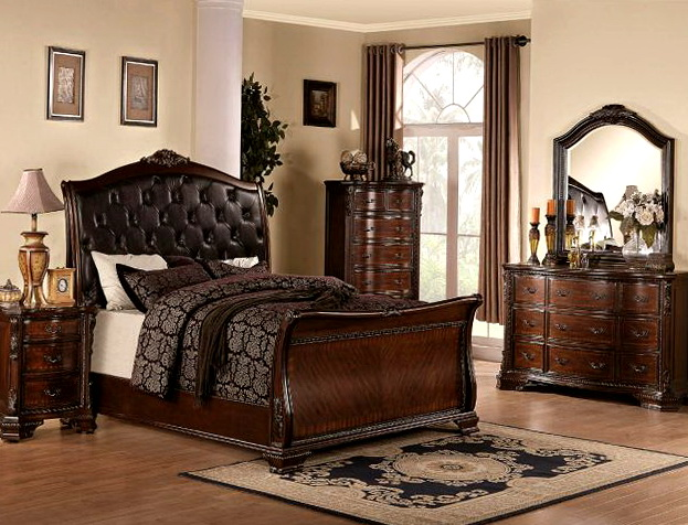 Sleigh Bedroom Sets Cheap