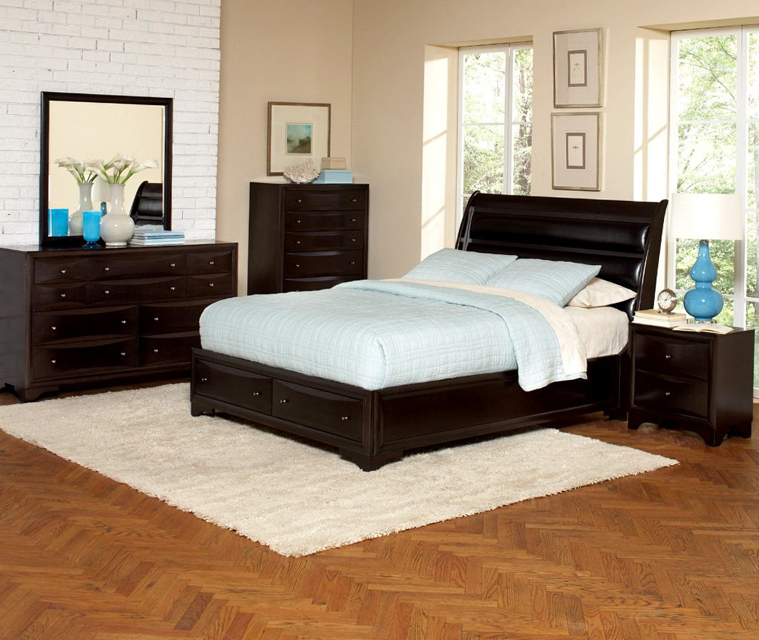 Sleigh Bedroom Sets Queen