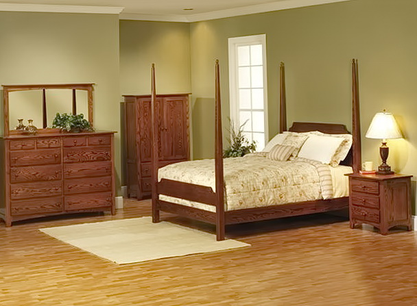 Solid Wood Bedroom Furniture Made In Usa