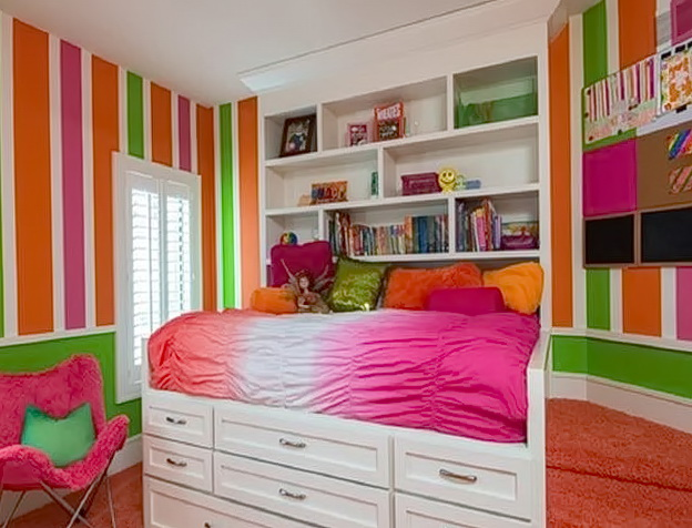 Teenage Bedroom Ideas Colorful