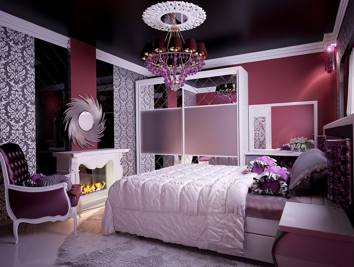 Teenage Girl Bedroom Ideas Pink And Black