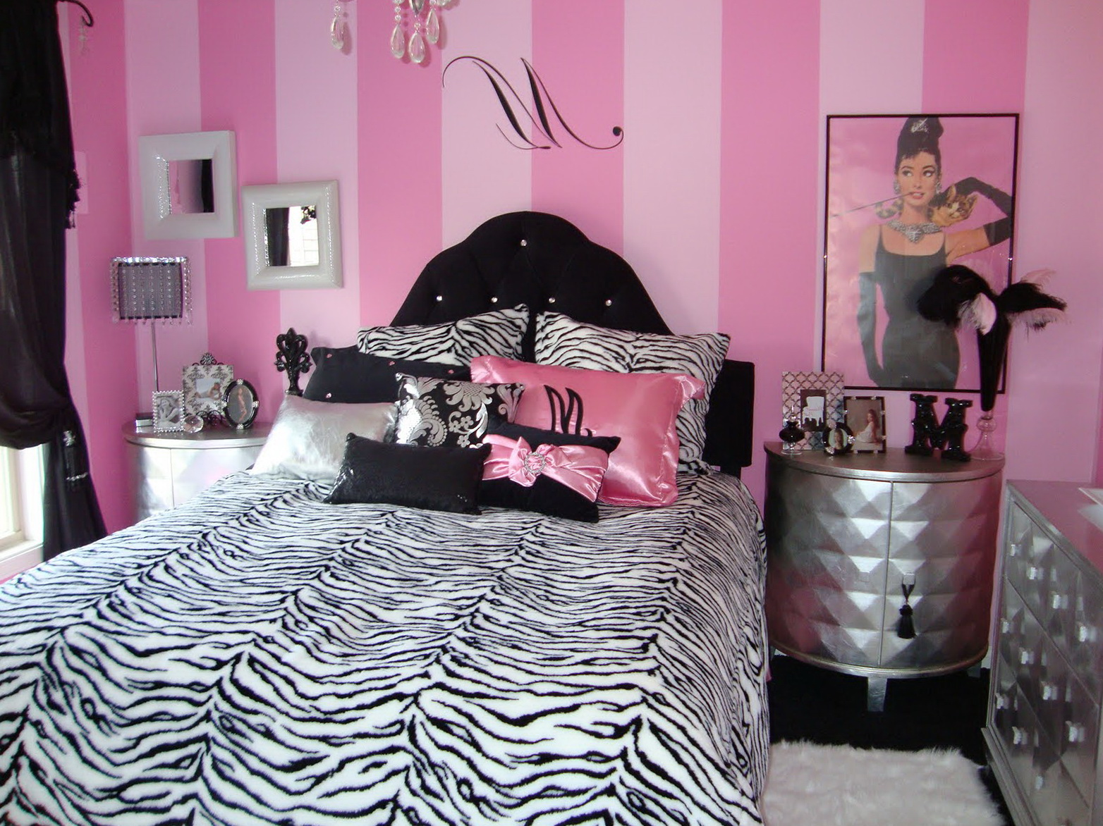 Teenage Girl Bedroom Ideas Zebra