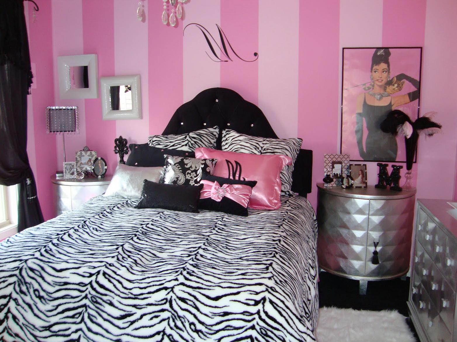 Teenage Girl Bedroom Ideas Zebra