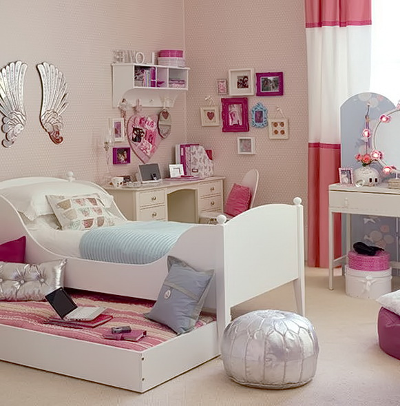 Teenage Girl Bedroom Organization Ideas