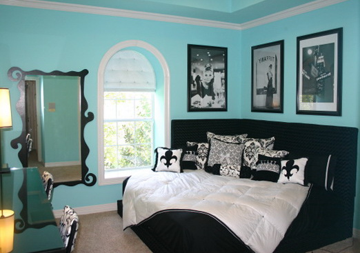 Tiffany Blue Bedroom Decor