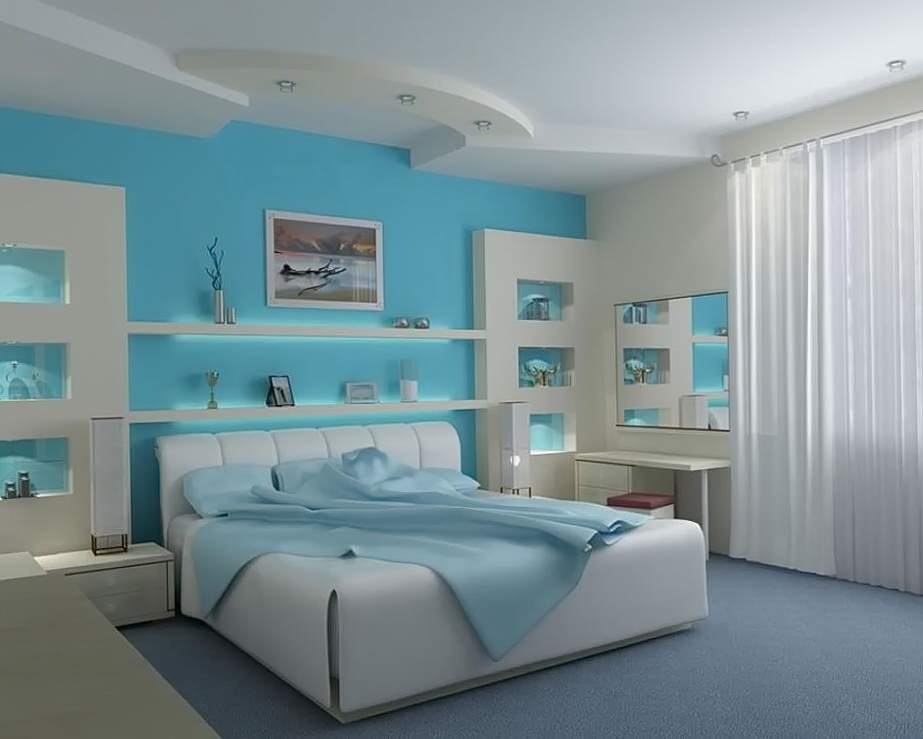 White Beach Themed Bedrooms