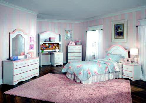 White Teenage Girl Bedroom Furniture