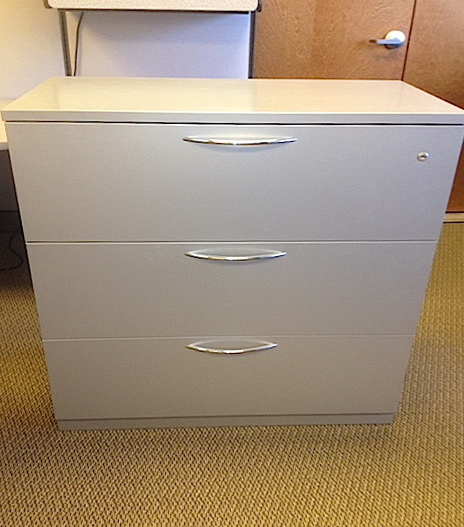 3 Drawer File Cabinet Used
