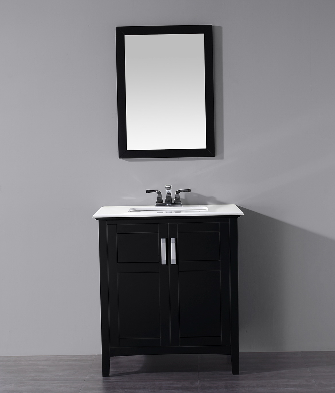 30 Inch Bathroom Vanity Black