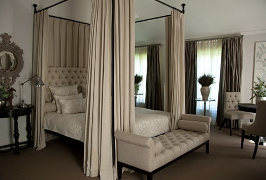4 Poster Bed Curtains