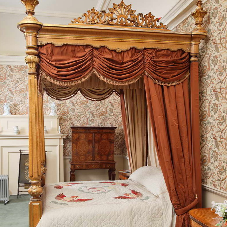 4 Poster Bed Drapes