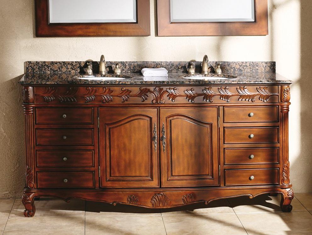 72 Inch Bathroom Vanity With Granite Top