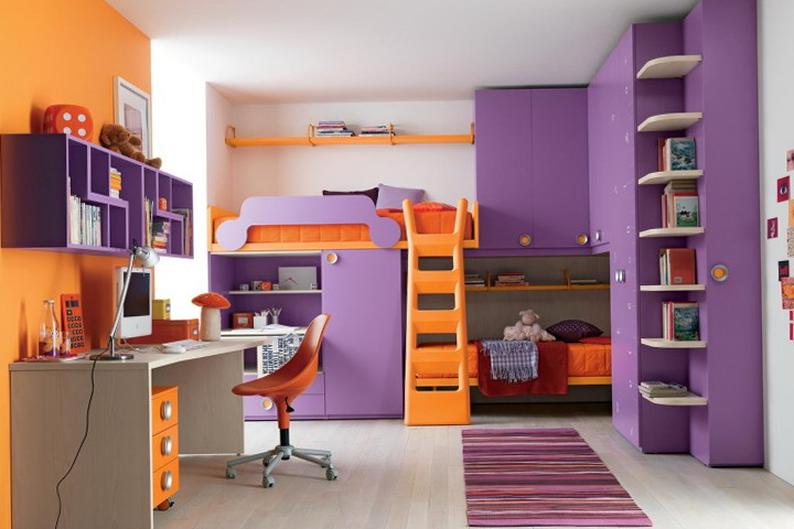 Awesome Girl Bunk Beds