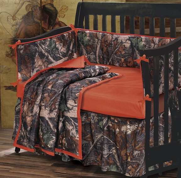 Baby Camouflage Bedding Sets