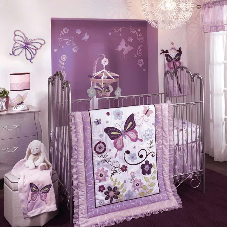 Baby Girl Bedding Sets Purplebaby Girl Bedding Sets Purple