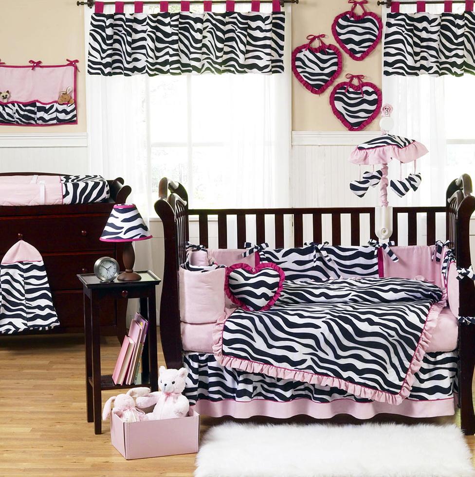 Baby Girl Crib Bedding Sets Zebrababy Girl Crib Bedding Sets Zebra