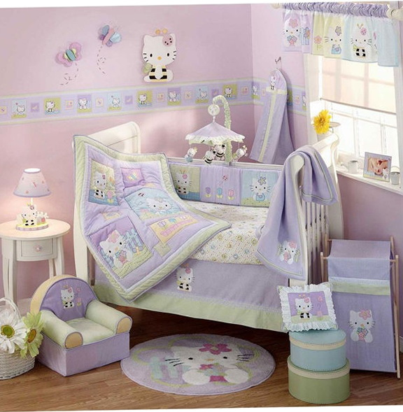 Baby Girl Crib Bedding Sets1