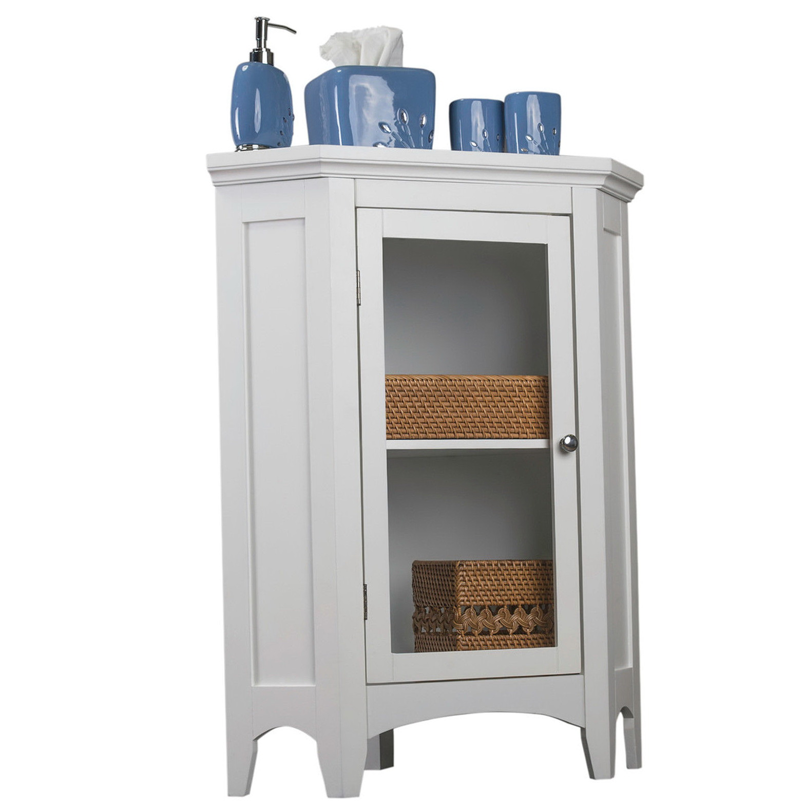 Bathroom Corner Cabinet Storage